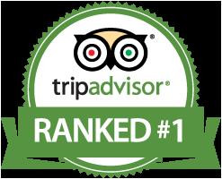 Chalet Broski is ranked Number 1 on Trip Advisor